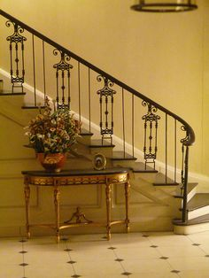 The Thorne Rooms - Lovely stairs of Georgian entrance hall