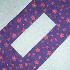 Cracker Quilt Block by Sophie