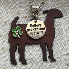 """ Stock Show Goat Necklace Horse Ribbons, Goat Pen, Show Goats, Animal Phone Cases, Boer Goats, Nigerian Dwarf Goats, Cute Goats, Pig Pen, Showing Livestock"