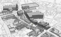 Image result for overlapping architectural model to site