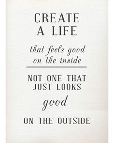 Don't make it about what others see. #inspiration #visualisation #happiness