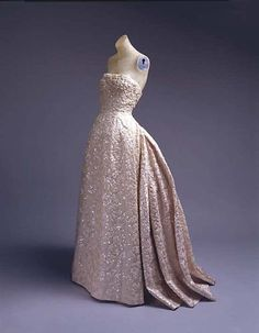 Ball Gown, Christian Dior, 1953 via The Metropolitan Museum of Art