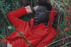 Moses Sumney by Brandon Hicks / creative direction by Solange Knowles