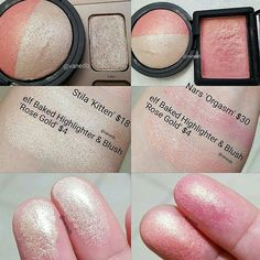 """2,686 Likes, 16 Comments - Vanessa (@vanedb) on Instagram: """"I love the dupes I found in this @elfcosmetics duo.The nars dupe is not exact but similar shade…"""""""