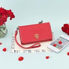 Carnation+Smartphone+Wallet