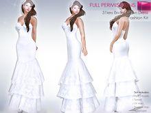 Wedding body paint lingerie