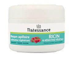 Natessance Masque À L'huile de Ricin RATHER SAFE except for Benzyl Alcohol (8th ingredient, preservative 5/10 on ewg scale) lactic acid (4/10)  Limonene (scent 6/10) Hexyl Cinnamal , Linalool (scents 5/10). Ingredients: Ricinus Communis (Castor Seed) Oil, Cetearyl Alcohol, Coconut Oil, Glycerin, Cetrimonium Chloride, Shea Butter, Macadamia Ternifolia Seed Oil, Inulin, Benzyl Alcohol, Parfum (Fragrance), Sodium Cocoyl Glutamate, Hydrogenated Castor Oil...