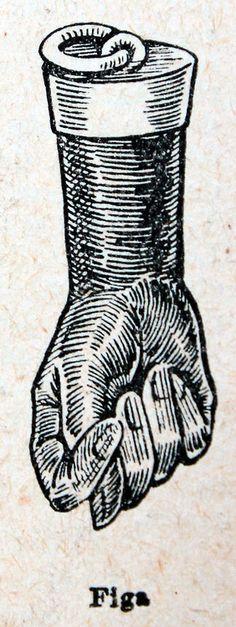 Figa, a charm of good luck. c. 1880