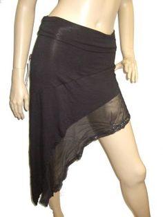Psylo - Seven Skirt - Black or Charcoal
