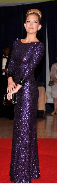 Kate Hudson in a Jenny Packham dress