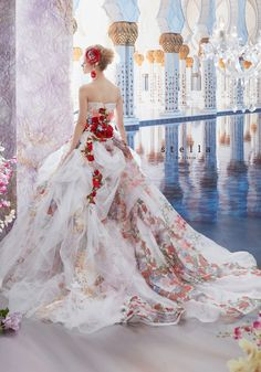 I would be in heaven with this gown. Quinceanera Dresses, Prom Dresses, Mode Baroque, Bridal Gowns, Wedding Gowns, Fantasy Gowns, Fairytale Dress, Beautiful Gowns, Dream Dress