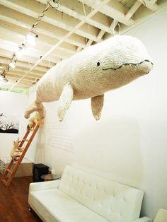 Baleine blanche géante