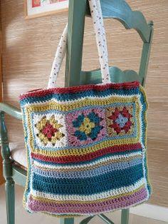 Crochet bag~ inspiration.