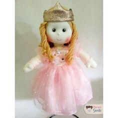 Boneca de Pano Glinda (Bruxa boa do Sul) 40cm