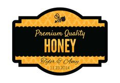 Custom Honey Favors Personalized Honey Labels & by SouthernSticker