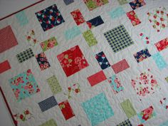 Quilted ThrowMiss Kate by Bonnie and Camille for от VillageQuilts