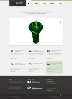 Business Concept Joomla Template by Html5 Web Templates