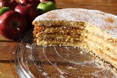 Μηλόπιτα Napoleon - Συνταγές   γλυκές ιστορίες Greek Desserts, Greek Recipes, Cake Cookies, Apple Pie, Cocoa, Vanilla, Deserts, Butter, Kitchens