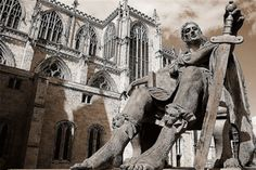 A visit to York, the ancient city in northern England, is like a trip back in time.