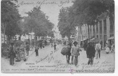 MURCIA PLANO DE SAN FRANCISCO. 1183 HAUSER Y MENET. (Postales - España - Murcia Antigua (hasta 1.939))