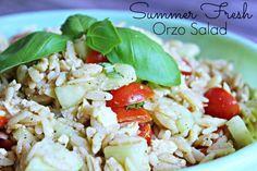 Summer Fresh Orzo Sa