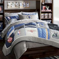 New 2016 100% cotton bed sheet bedspread  set 3/ piece basketball bedding sets Twin Queen Size