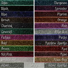 Glitter Elastic for Hair Ties
