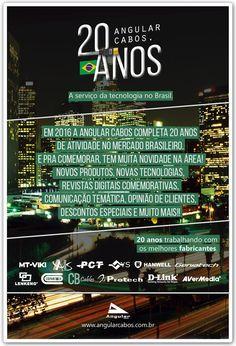 Lançamento da Campanha de 20 anos da Angular Cabos.
