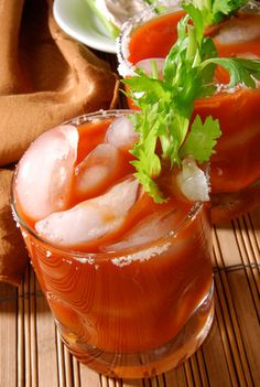 Best Recipes for Tailgate Drinks -- Bloody Mary, Irish Coffee, and Spiked Cider.