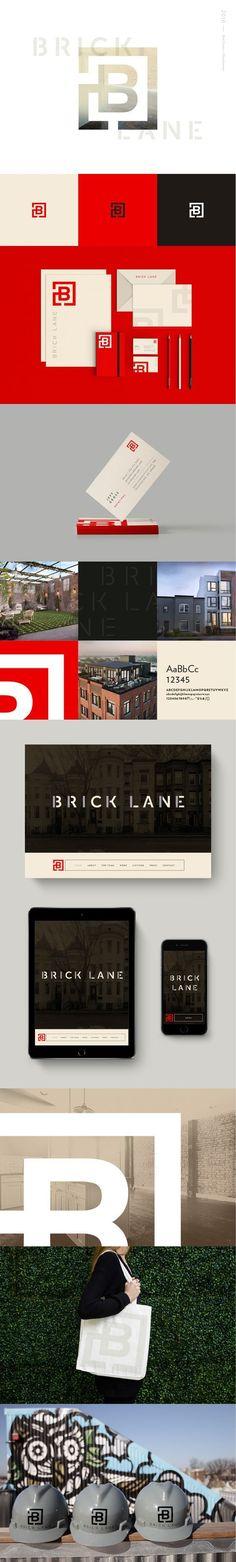 Brick Lane Real Estate Branding by Rebecca Finn | Fivestar Branding Agency – Design and Branding Agency & Curated Inspiration Gallery