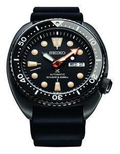 Seiko Prospex Automaat Black Edition Limited Edition Diver 200 m SRPC49K1