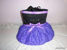 Purple Tutu Dance Bag by Tutunyou on Etsy, $30.00