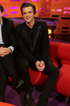 Brandon Flowers on the Graham Norton Show