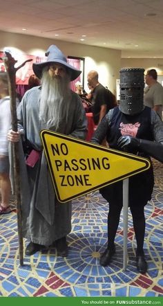 I didn't know whether to pin to my Tolkien or Monty Python board. This is too funny.<<<omg, you have a Monty Python board? I want a Monty Python board! Monty Python, Amazing Cosplay, Best Cosplay, Ai No Kusabi, Funny Memes, Hilarious, Movie Memes, Funny Captions, Geek Chic