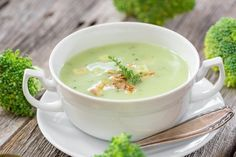 Brokkoli Suppe - Rezept