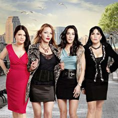 'Mob Wives' stars Renee Graziano, Carla Facciolo and Karen Gravano know almost as much about the life of the Italian mob as James Gandolfini did. His sudden death hit close to home for the stars of the show. Best Tv Shows, Favorite Tv Shows, Movies And Tv Shows, Favorite Things, Big Ang, Mob Wives, Mafia Wives, Nyc, Reality Tv Shows