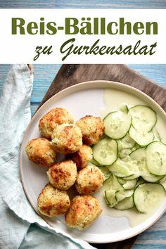 Reis-Bällchen. Zu Gurkensalat. - mix dich glücklich - Thermomix-Rezepte für Food & Non Food (Essen, Kosmetik, Putzmittel etc.)