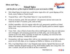 Ideas and tips for Stuart's Spices Island Spice Spice Shop, Spices, Island, Tips, Ideas, Block Island, Thoughts, Islands