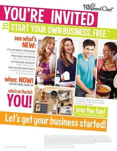 Contact me today to learn more!!!   http://new.pamperedchef.com/pws/LeslieWolfe