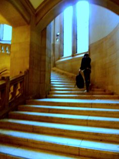 Stairs into Dub.