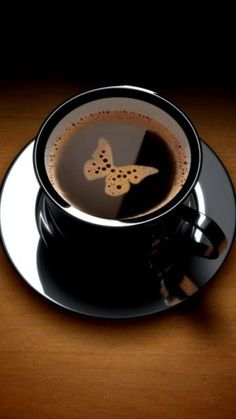 Butterfly Black Coffee