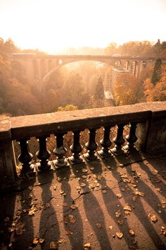 all you need is light... pont adolphe, luxembourg