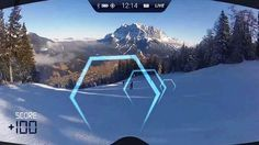 RideOn- the first true Augmented Reality Ski Goggles  , - ,   RideOn are the f...