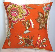 Orange Pillow Cover.