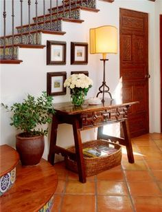 Spanish Interior Design Photos Design, Pictures, Remodel, Decor and Ideas - page 9---stairs
