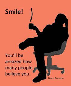 Smile! Go on, smile!  #smile, #fun, #humor, #humour