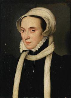 Portrait de Christine de Danemark, duchesse de Milan puis de Lorraine by François Clouet
