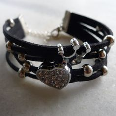 leather bracelet, one size fits all