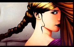 Susan's face & hair... from the Graphic Novel