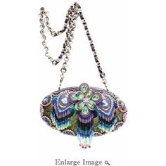 Mary Frances Handbags Retired | Mary Frances Bag Precious Peacock